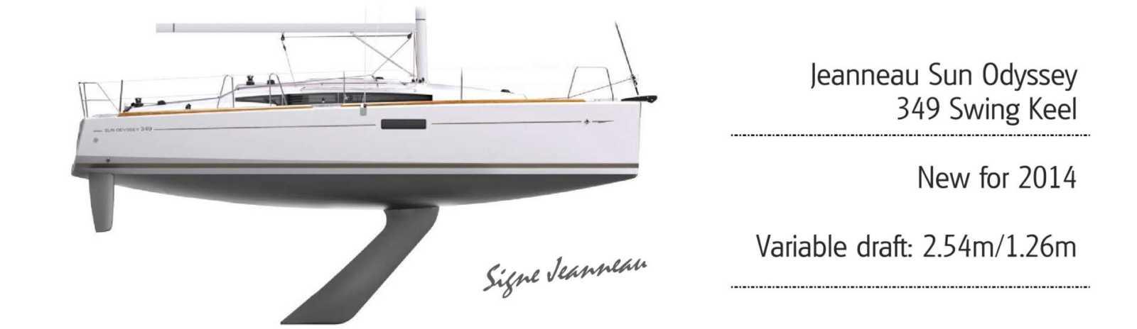 Jeanneau 349 Lift Keel Yachts Co