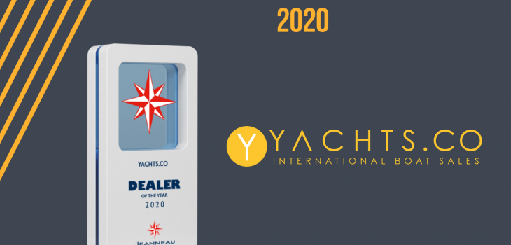 Jeanneau dealer of the year 2020