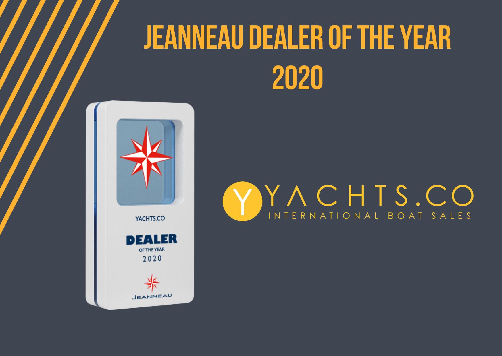 Jeanneau dealer of the year 2020